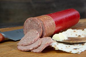 En god Renkorv som är ett lyxigt smörgåspålägg. Endast Renkött. 300g.